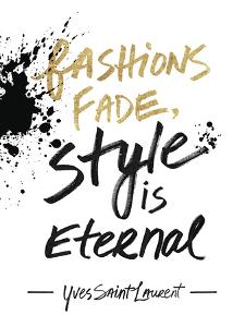 Style is Eternal by Lottie Fontaine