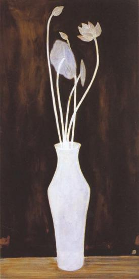 Lotus and Arum Bouquet-Sanyu-Art Print