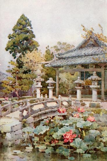 Lotus at Kyomidzu-Ella Du Cane-Giclee Print
