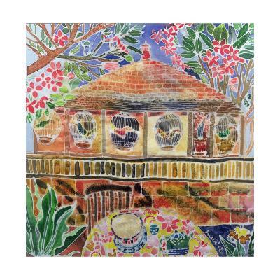Lotus Cafe, Ubud, Bali, 2002-Hilary Simon-Giclee Print