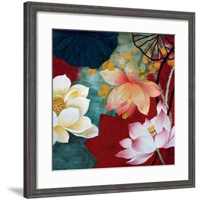Lotus Dream I-Hong Mi Lim-Framed Art Print
