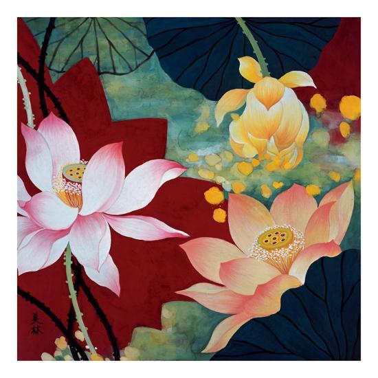 Lotus Dream II-Hong Mi Lim-Art Print