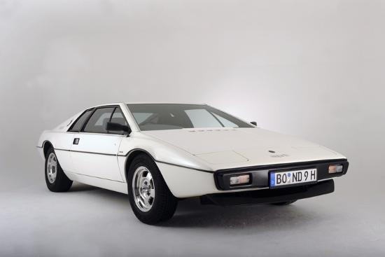 Lotus Esprit 1977 from the James Bond film The Spy Who Loved Me-Simon Clay-Photographic Print