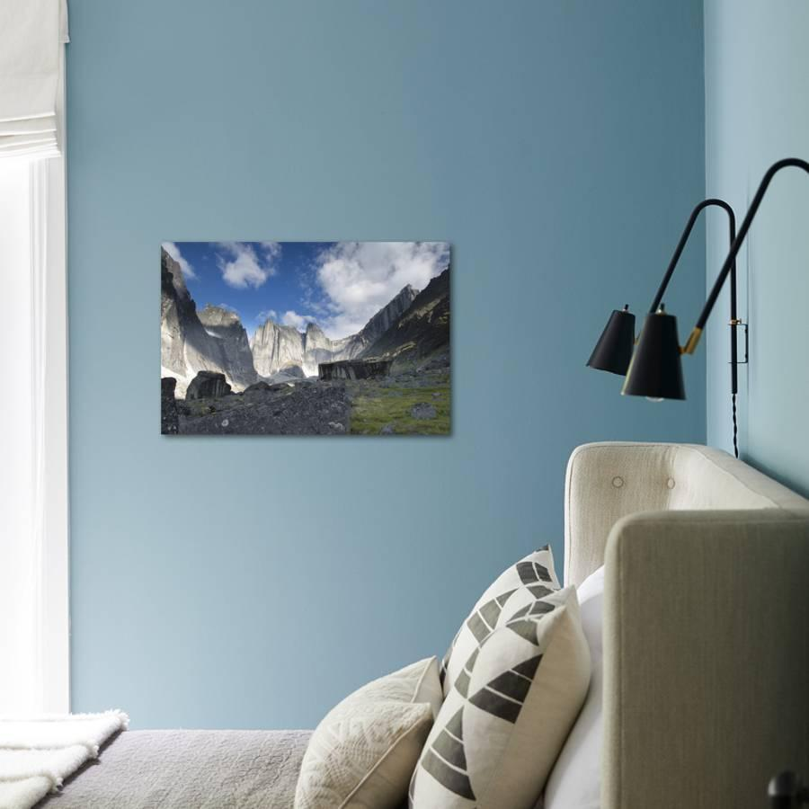 Lotus Flower Tower In Cirque Of The Unclimbables Photographic Print