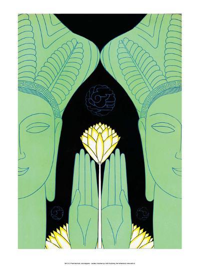 Lotus Goddess Hands-Frank Mcintosh-Art Print