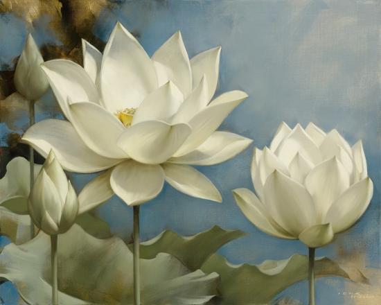 Lotus I-Igor Levashov-Art Print