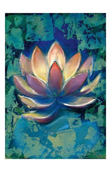 Lotus II-Marcella Rose-Giclee Print