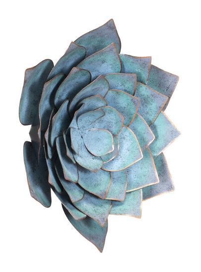 Lotus Lg Wall Décor Blue--Alternative Wall Decor