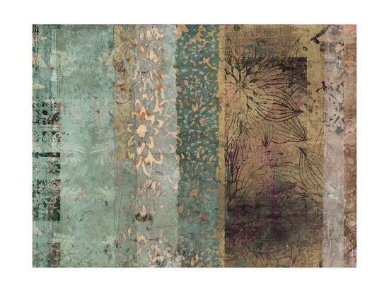 Lotus Patina I-Ricki Mountain-Art Print