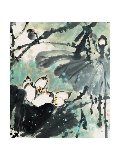 Lotus Series 22-Yunyue Zhu-Giclee Print