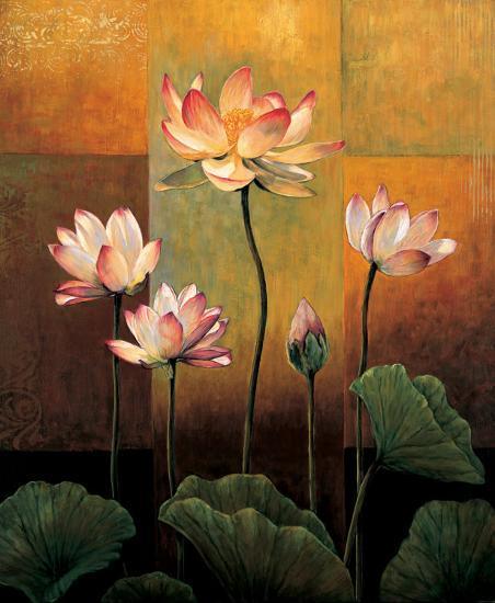 Lotus-Jill Deveraux-Art Print