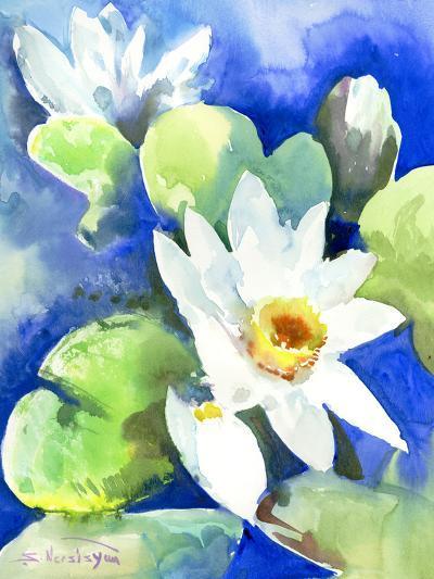 Lotuses 2-Suren Nersisyan-Art Print