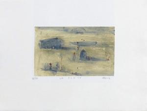 La plage by Lou G. (Lupita Gorodine)