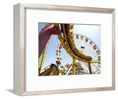 Amusement Rides at Pacific Park, Santa Monica Pier