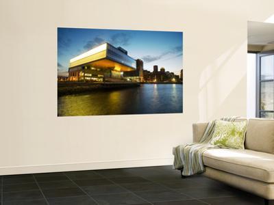 Institute of Contemporary Art in Evening Light
