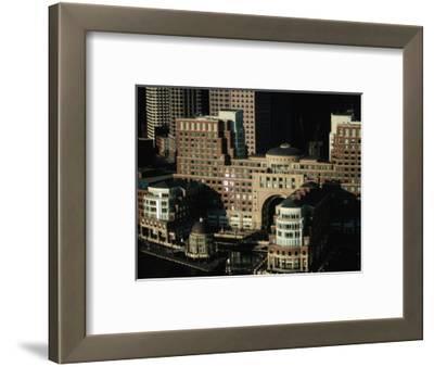 Rowes Wharf Buildings, Boston, Massachusetts, USA