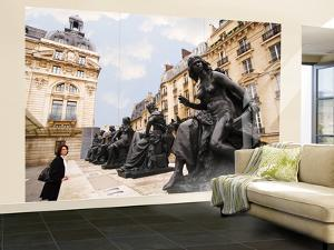 Statues Outside Musee D'Orsay by Lou Jones