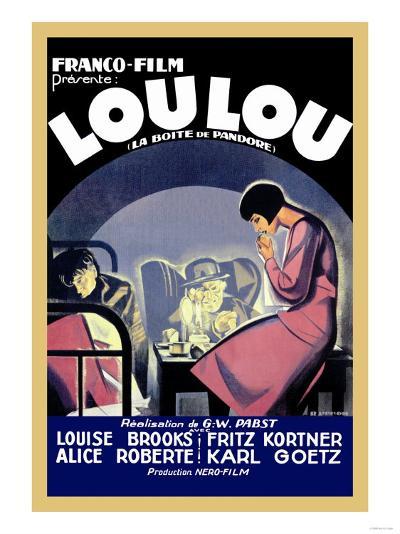 Lou Lou--Art Print