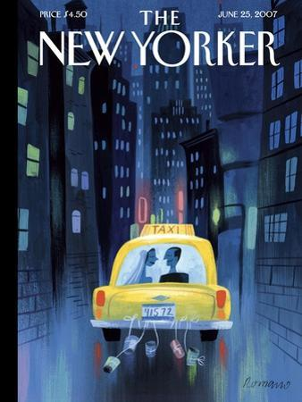 The New Yorker Cover - June 25, 2007 by Lou Romano