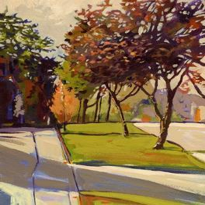 Wedgewood Walk by Lou Wall