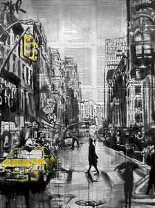 Brooklyn Cab by Loui Jover