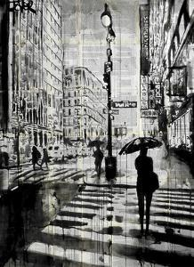 Manhattan Moment by Loui Jover