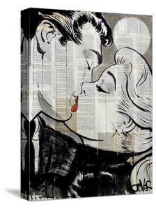 Pop Kiss by Loui Jover