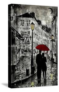 Rainy Promenade by Loui Jover