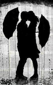 Umbrellas and Love by Loui Jover