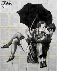 Vintage Kiss by Loui Jover