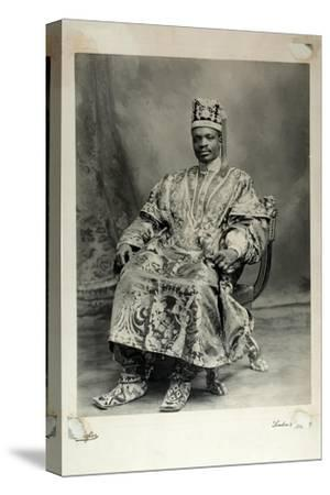 Ladapo Samuel Ademola, Later the 7th Alake of Abeokuta, England, 1904