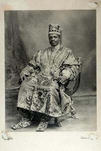 Ladapo Samuel Ademola, Later the 7th Alake of Abeokuta, England, 1904 by Louis Adolph Langfier