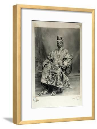 Ladapo Samuel Ademola, Later the 7th Alake of Abeokuta, England, 1904