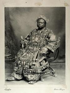 Tegumada Ademola, England, 1904 by Louis Adolph Langfier