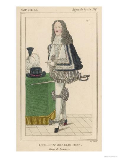 Louis-Alexandre de Bourbon French Soldier and Son of Louis XIV--Giclee Print