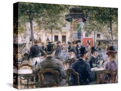 Cafe Scene in Paris, 1884