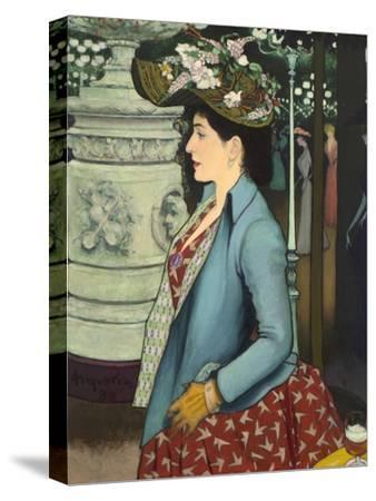An Elegant Woman at the Élysée Montmartre (Élégante À L'Élysée Montmartre), 1888