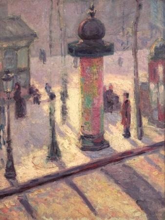 Kiosk on the Boulevard Clichy, 1886-7