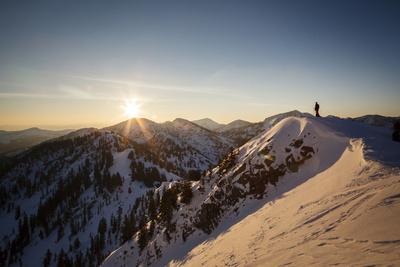 Chris Smith, Flagstaff Peak Dawn, Wasatch Mountains