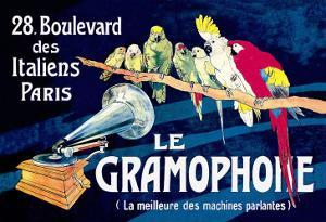 Le Gramophone by Louis Bombled