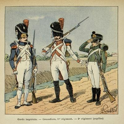 Napoleon's Imperial Guard: 1st Regiment Grenadier and Pupils of the 2nd Regiment
