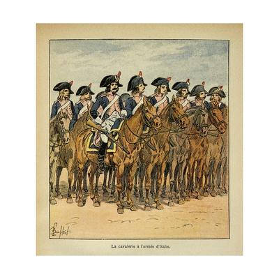 Napoleonic Wars, Cavalry of the Army of Italy
