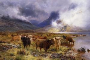 Through Glencoe by Way to the Tay, 1899 by Louis Bosworth Hurt