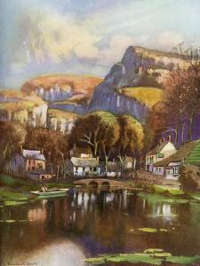 Cheddar Gorge, Somerset, 1924-1926 by Louis Burleigh Bruhl
