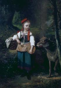 Little Red Riding Hood by Louis Cabaillot Lasalle