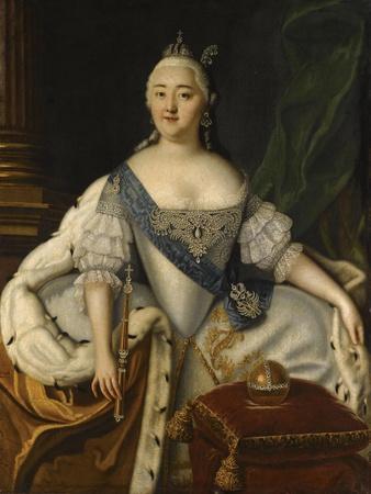 Portrait of Empress Elisabeth
