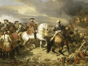 Bataille de Lawfeld, le 27 juillet 1747 by Louis Charles Auguste Couder