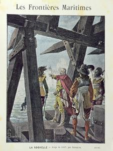 Armand-Jean du Plessis, Cardinal de Richelieu by Louis Charles Bombled
