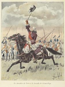 The Chevalier De Levis at the Battle of Sainte-Foy, Quebec, 1760 by Louis Charles Bombled