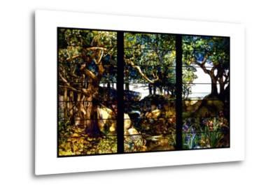 A Wooded Landscape in Three Panels
